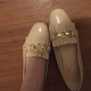 Kate spade pink loafer gently used
